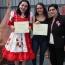 Alumnas de TEM IV le cantan al Rayen y crean himno institucional